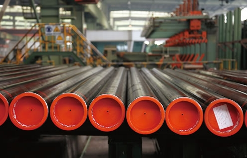 Steel line pipe for oil & gas